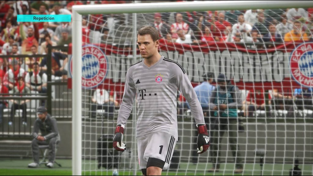 Форма вратаря Баварии сезон 2018-19 в игре PES 2018