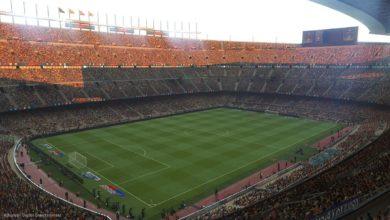 Стадион Камп Ноу в игре PES 2019