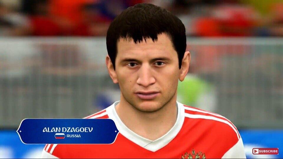 Алан Дзагоев в WC 2018