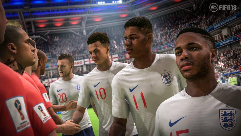 Сборная Англии в WC 2018