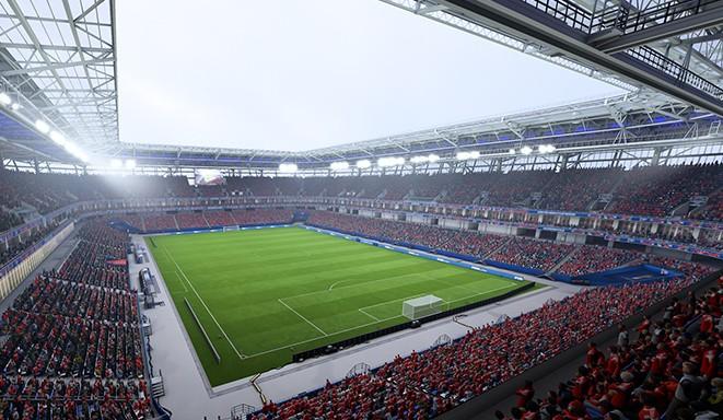 Калининград арена в FIFA 18