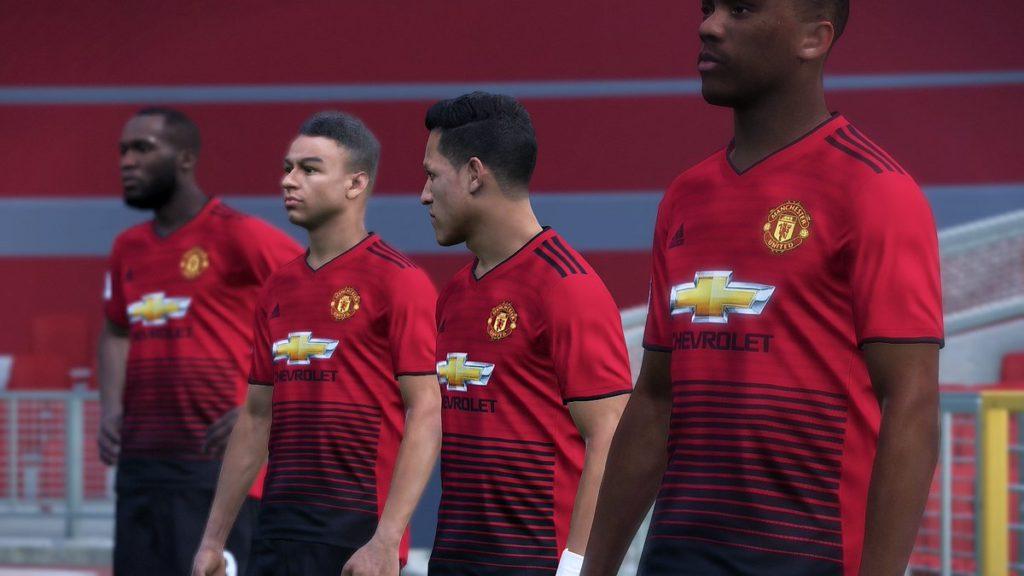 Форма Манчестер Юнайтед сезон 2018-19
