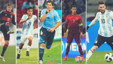 Пять лучших футболистов Чемпионата мира в России