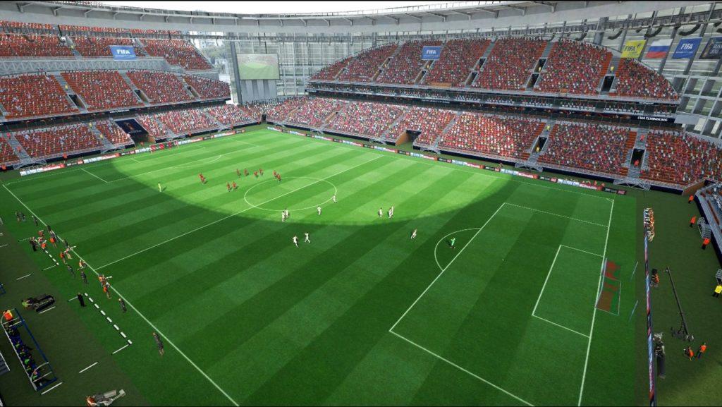 Стадион в Екатеринбурге для PES 2013