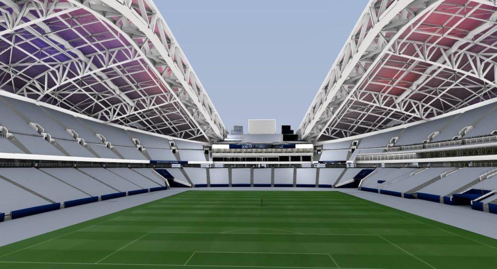 Стадион Fisht Olympic Stadium в Сочи