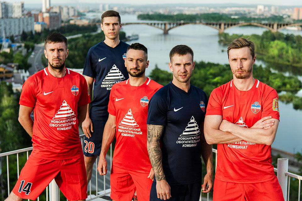 Форма ФК Енисей сезон 2018-19
