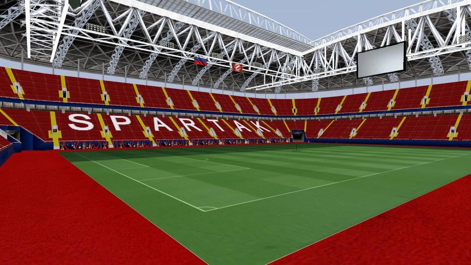 Открытие Арена в PES 2013