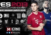Patch PES 2013 Next Season 2018-19