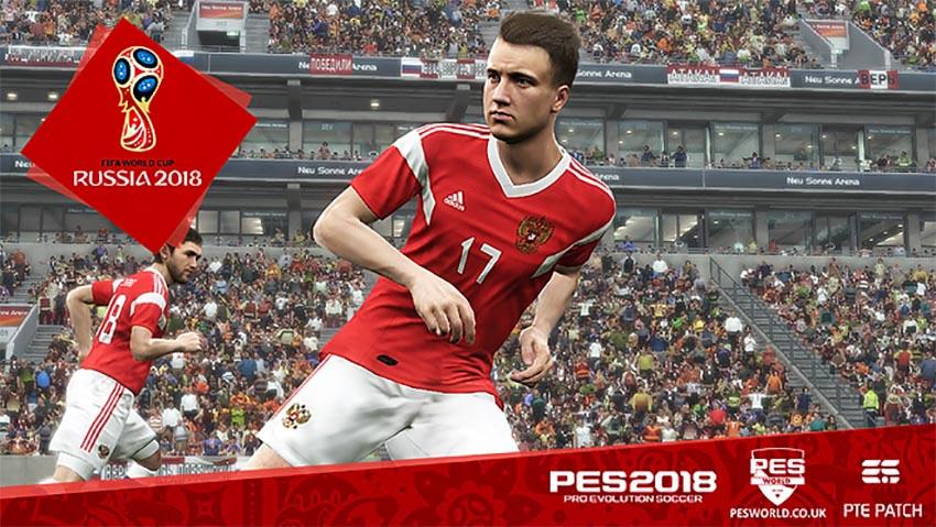Дополнения PES World Cup 2018