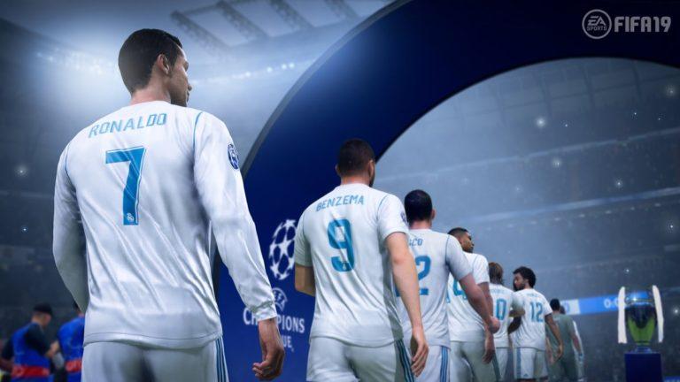 Геймплей в игре FIFA 19