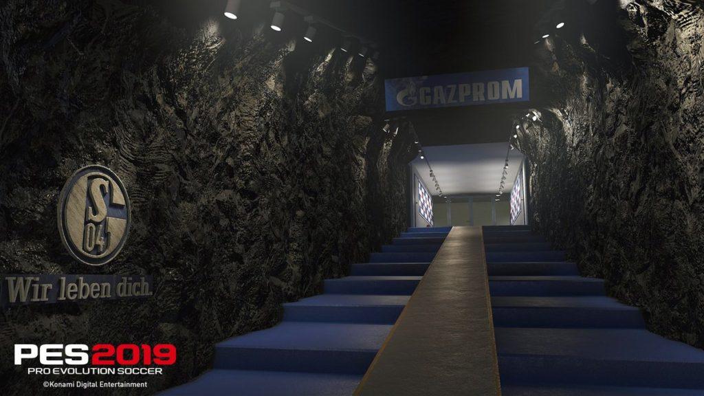 Тоннель Фельтинс-Арена в PES 2019