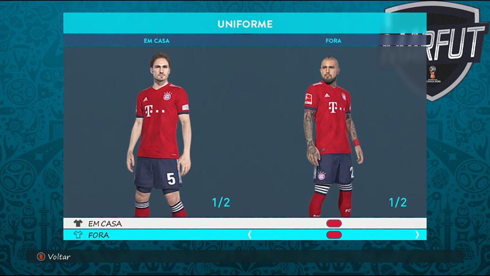Бавария на сезон 2018-19