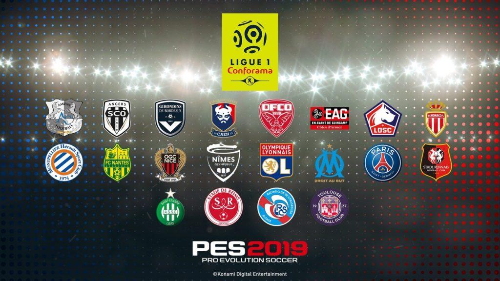 Франции получила лицензию в Pro Evolution Soccer 2019