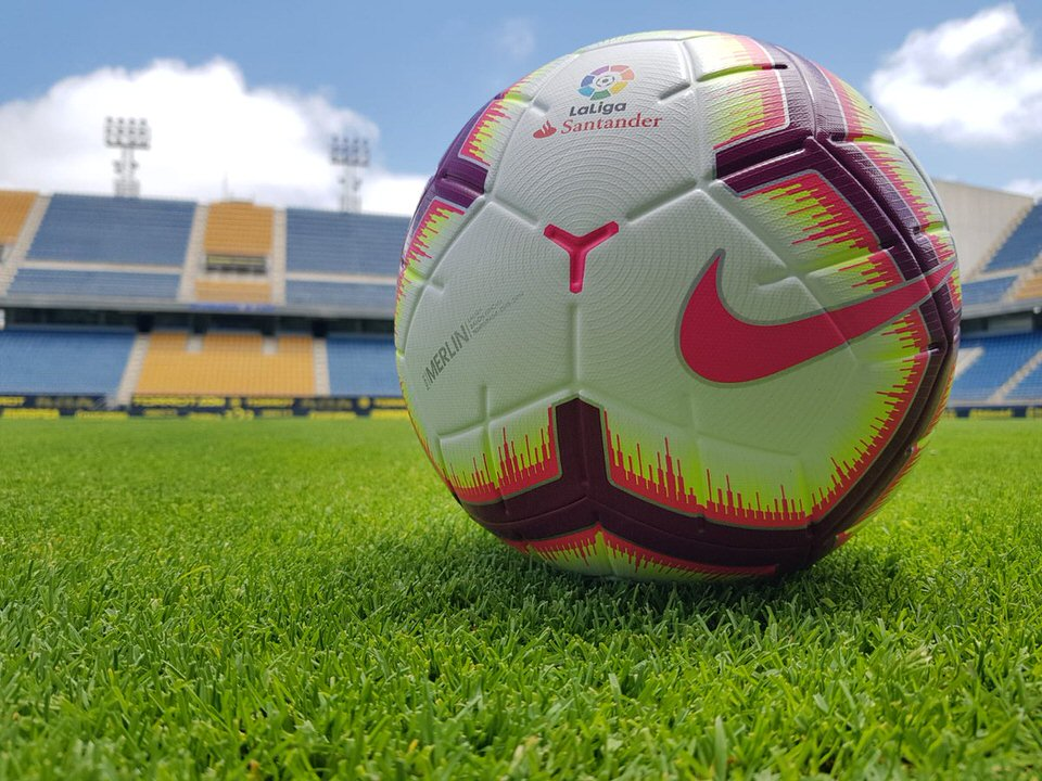 Новый мяч Nike Merlin чемпионата Испании