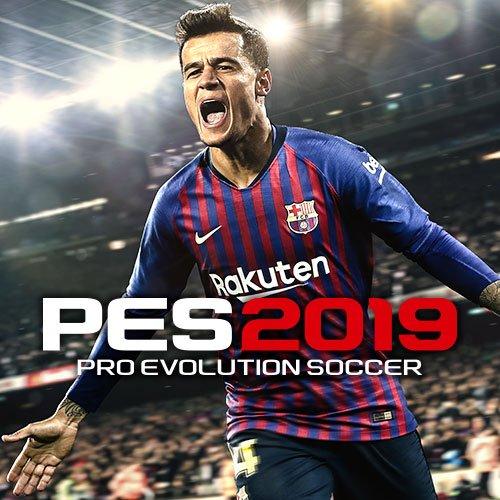 Официальная обложка PES2019