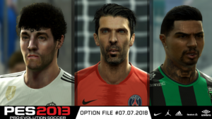 Patch PES 2013 Next Season 2018-19 the trails from July 7