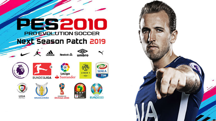 New season 2018-19 for the game PES 2010