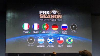 PES 2019 презентовали лигу России