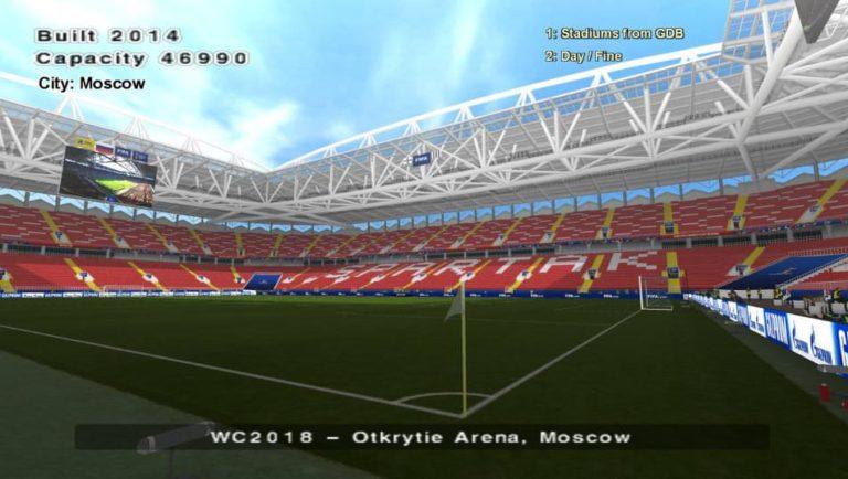 Стадион «Открытие Арена» для PES 6