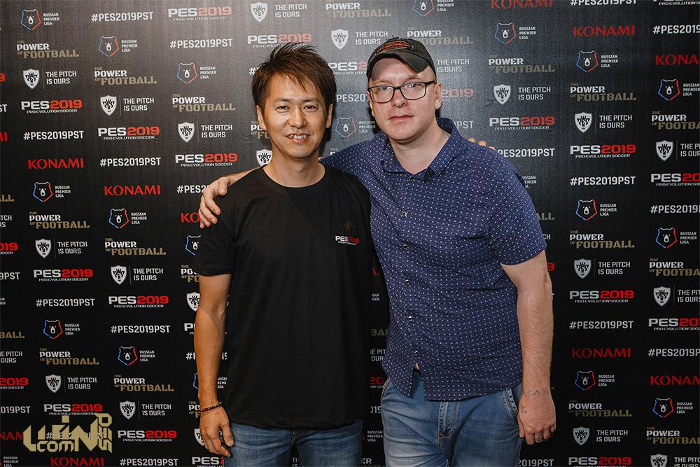 Кеи Мацуда в Москве дал интервью WinPes