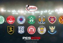 Чемпионат Шотландии PES 2019 полная лицензия