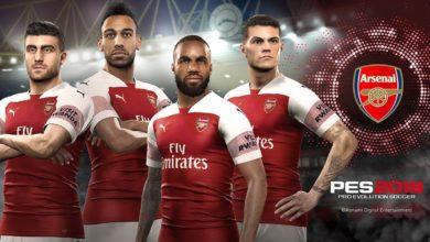 Арсенал в PES 2019
