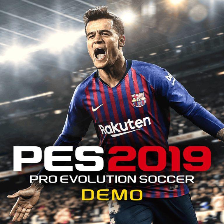 Демоверсия игры PES 2019