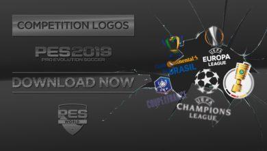 Логотипы всех соревнований для PES 2019 PS4 и PC