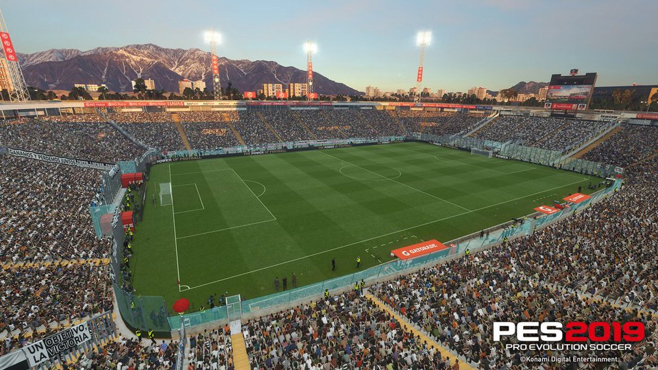Стадион Монументаль Давид Арельяно эксклюзивно представлен в PES 2019
