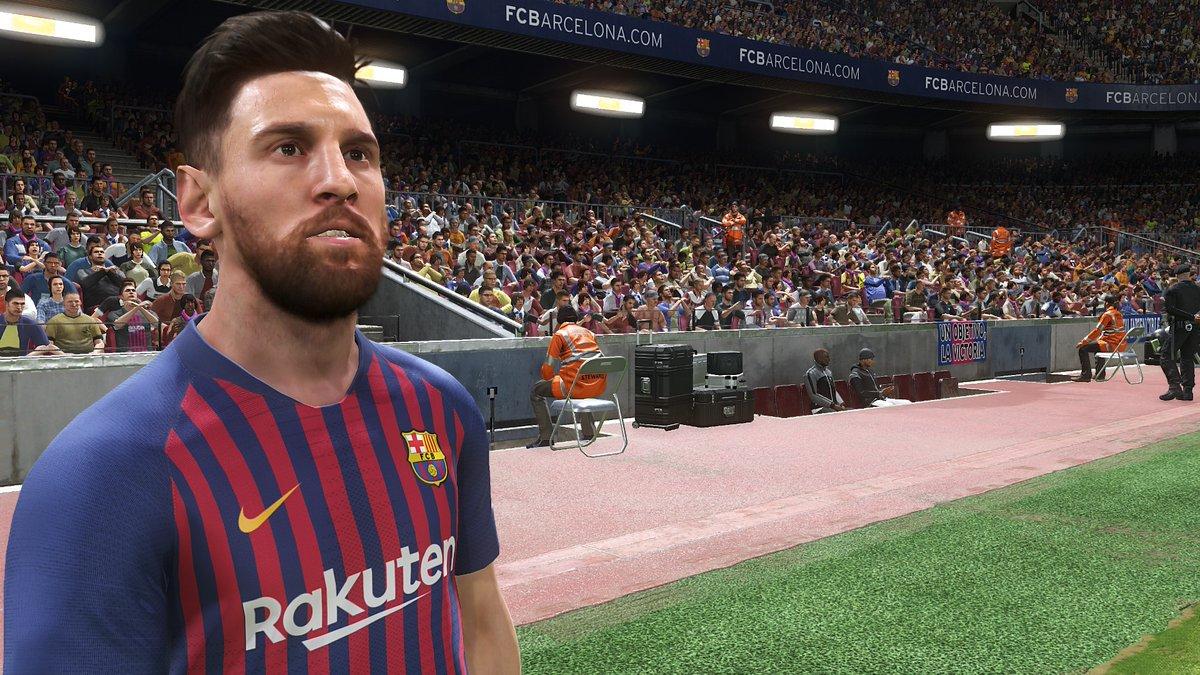 PES 2019 на Gamescom 2018