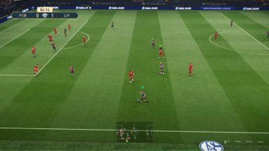 Новый футбольный газон для PES 2019