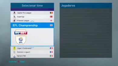 Option File для полной версии игры Pro Evolution Soccer 2019