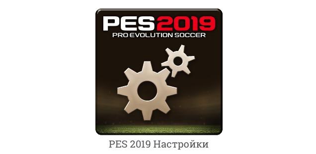 Settings программа для демо PES 2019