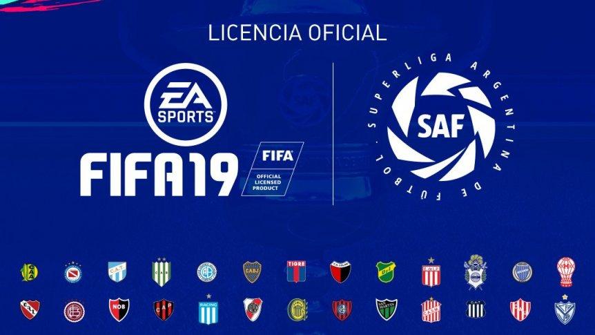 В FIFA 19 будет присутствовать полноценная Суперлига Аргентины