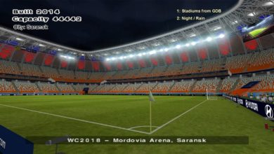 Стадион Мордовии для PES 6