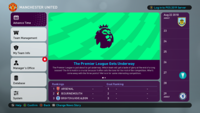 Графика Premier League для PES 2019