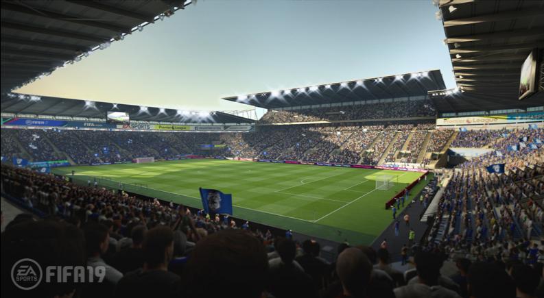 Кардифф Сити Стэдиум в FIFA 19