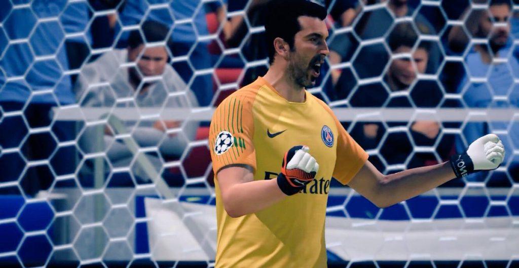 Буффон в FIFA 19