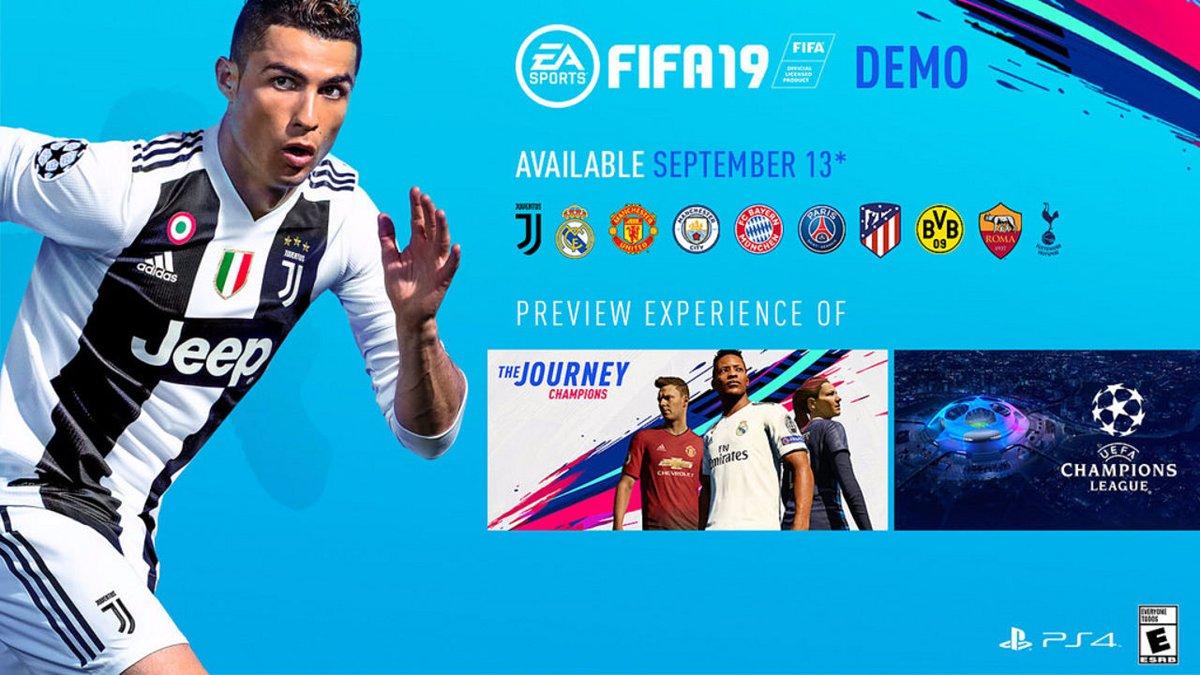 Скачать FIFA 19 демо