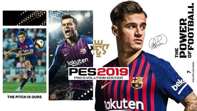 Мобильная версия игры PES 2019