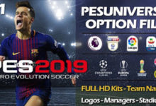 PESUniverse PC Option File Season 2018/2019