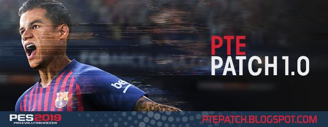 PTE Patch 2019 1.0 для PES 2019