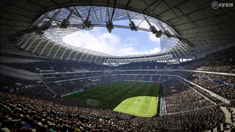 Тоттенхэм Хотспур Стэдиум в FIFA 19