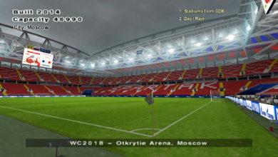 Стадион Спартака для PES 6