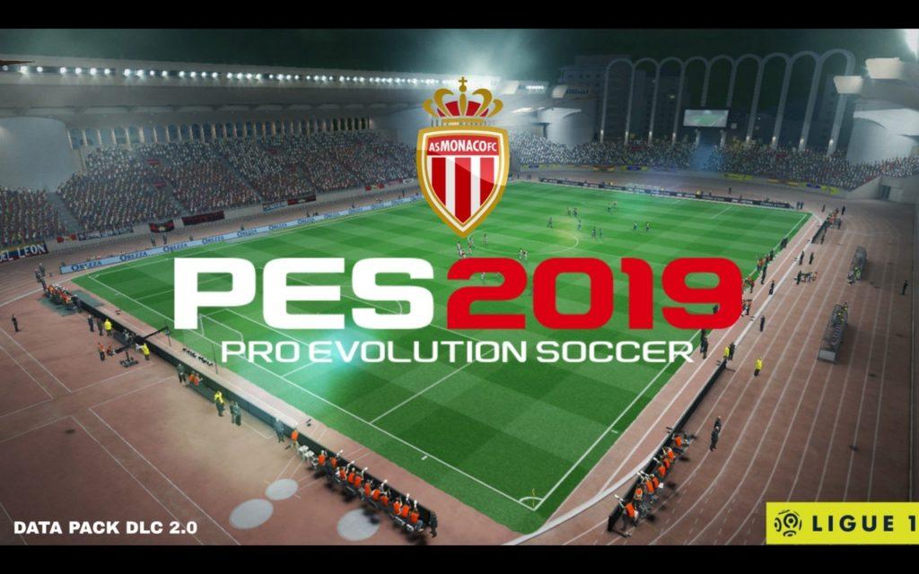 Стадион Монако в PES 2019