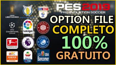 Опшен файл PESVicioBR на PS4 для PES 2019