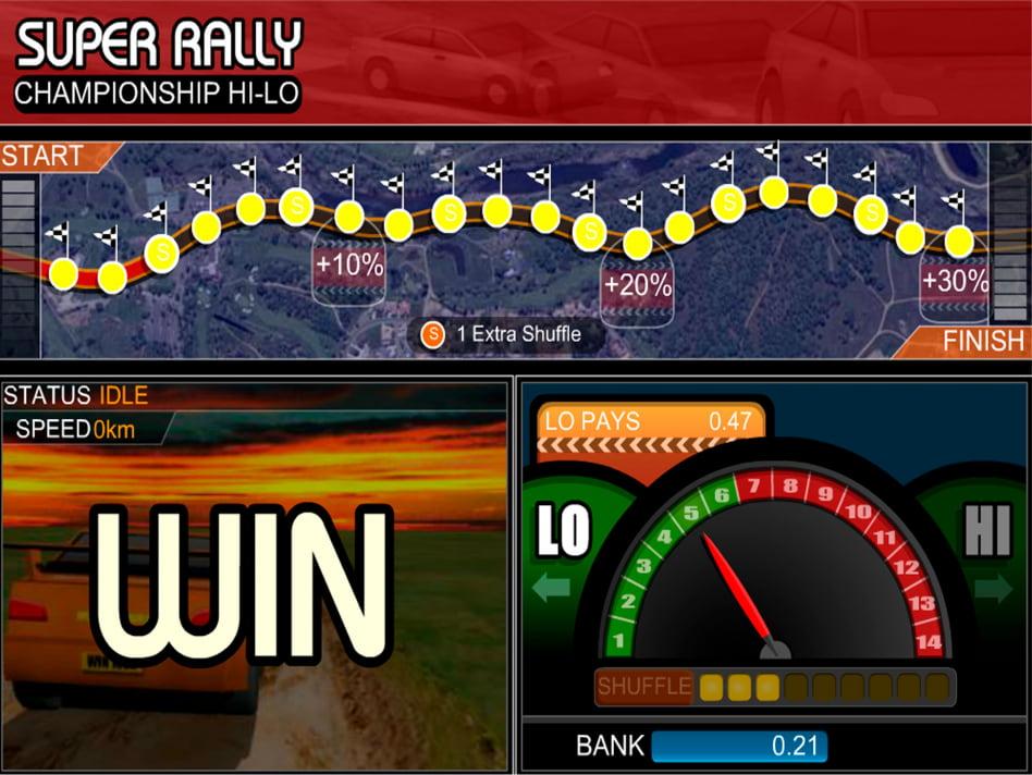 Как выиграть гонку в слоте Rally Hi-Lo и получить джекпот