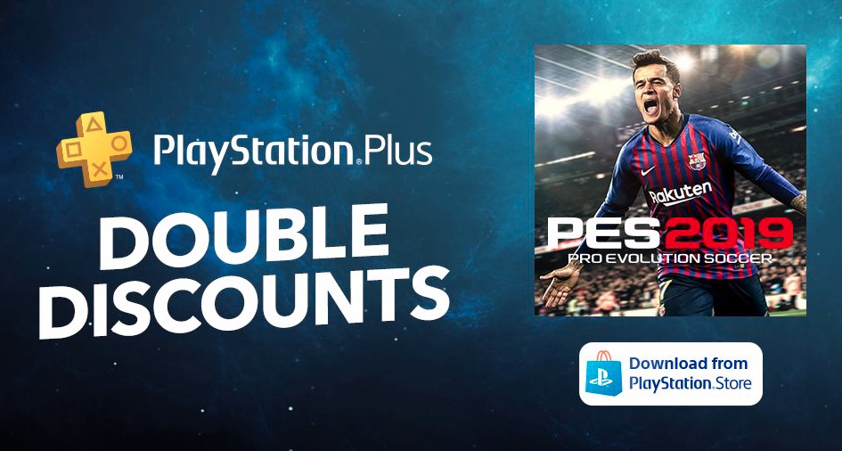 скидка ps4 Pro Evolution Soccer 2019