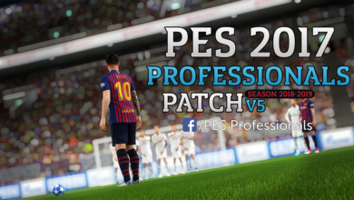 Professionals Patch V5 для PES 2017