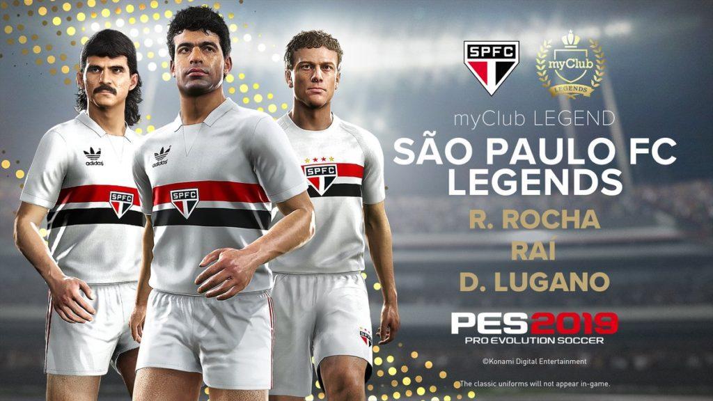 Легенды из «Сан-Паулу» в PES 2019